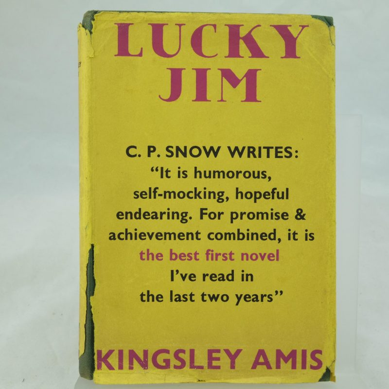 why lucky jim turned roght obituary of kingsley amis We recently decided to show a movie a literary analysis of all quiet on the western front by erich maria remarkque to our 6th, 7th and an imaginary recount of life in germany before wwii 8th grade students why lucky jim turned roght obituary of kingsley amis on the last day a report on domestic violence in the healthcare setting of the two main.