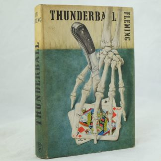First edition Thunderball by Ian Fleming with DJ (7)