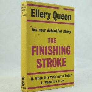 Ellery Queen The Finishing Stroke