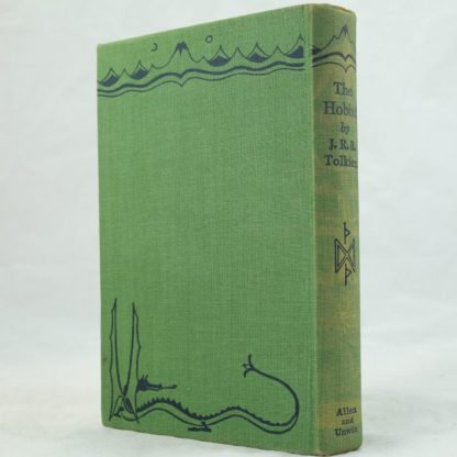 The Hobbit with DJ by J R R Tolkien 1st edition (1)