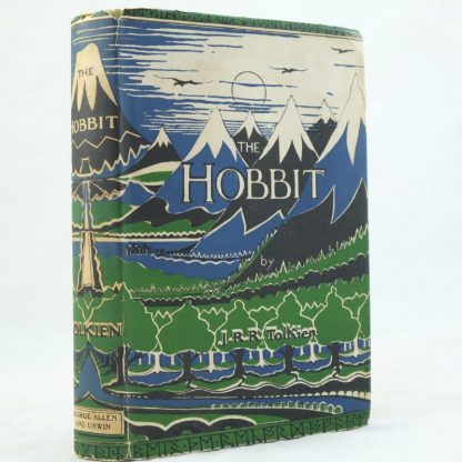 The Hobbit with DJ by J R R Tolkien 1st edition (3)