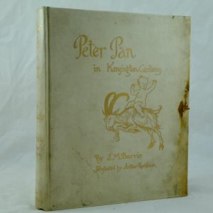 Peter Pan in Kensington Gardens by Matthew Barrie illus by Arthur Rackham