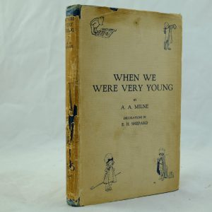 When We Were Very Young by A A Milne 1st with DJ