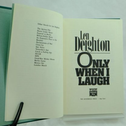 Len Deighton Only When I Laugh
