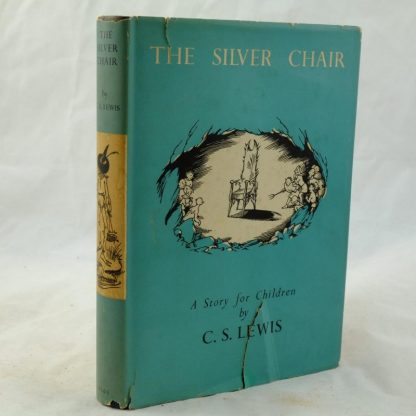 The Silver Chair by C. S. Lewis with DJ 1953 (6)