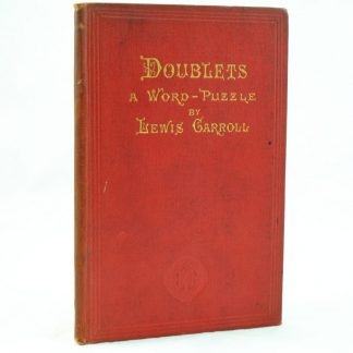 Doublets by Lewis Carroll 1st edition