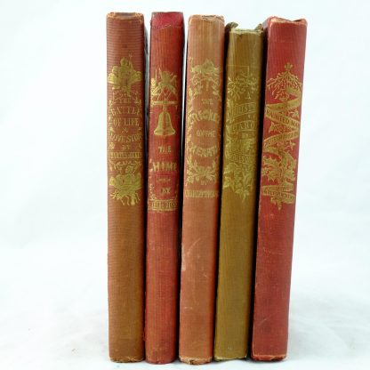 Christmas Set of C. Dickens The Chimes, The Cricket on the Hearth, The Battle of Life, Haunted Man and the Ghost's Bargain, A Christmas Carol (32)