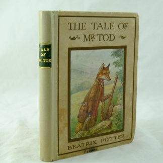 Beatrix Potter The Tale of Mr Tod rebacked