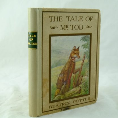 Beatrix Potter The Tale of Mr Tod rebacked (2)