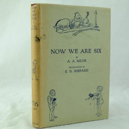 Now We Are Six signed by author A A Milne and illustrator (9)