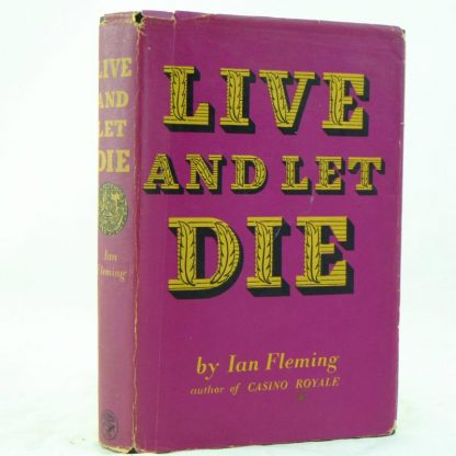 Live and Let Die by Ian Fleming with DJ 1st (3)