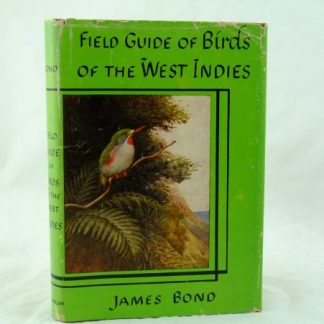Field Guide to Birds of the West Indies by James Bond