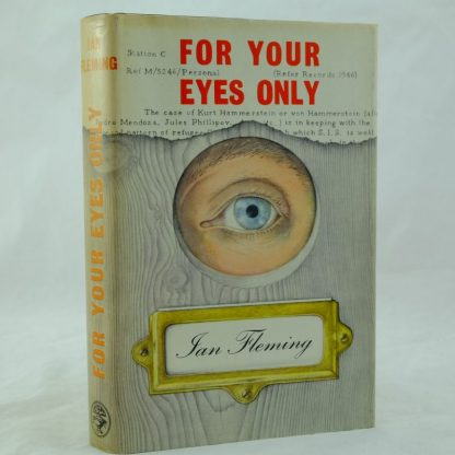 For Your Eyes Only Ian Fleming DJ 1st (1)