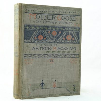 Mother Goose illustrated by Arthur Rackham 1st edition (7)