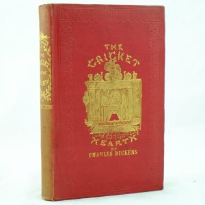 The Cricket on the Hearth 2nd state by Charles Dickens