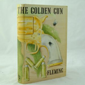 The Man with the Golden Gun by Ian Fleming 1st edition DJ