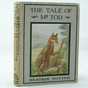 The Tale of Mr Tod by Beatrix Potter v good
