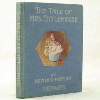 The Tale of Mrs Tittlemouse by Beatrix Potter v good