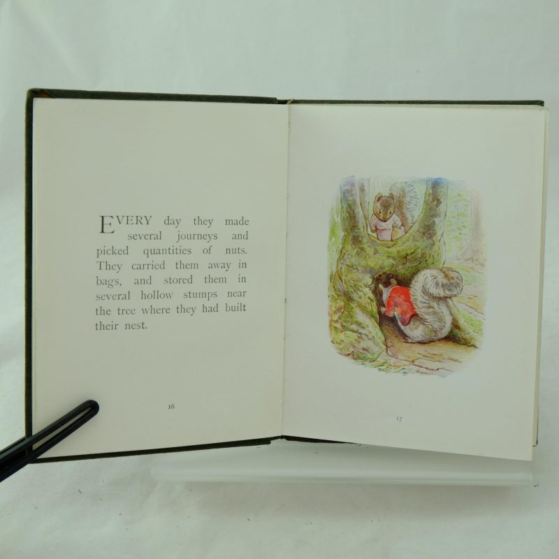 The Tale Of Timmy Tiptoes By Beatrix Potter Rare And Antique Books
