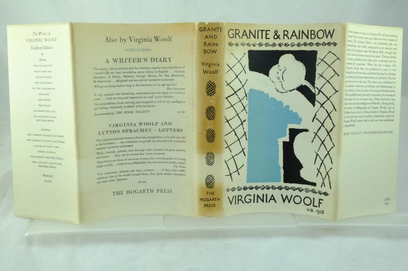 Granite And Rainbow By Virginia Woolf Rare And Antique Books