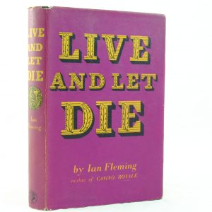 Live and Let Die by Ian Fleming first with DJ