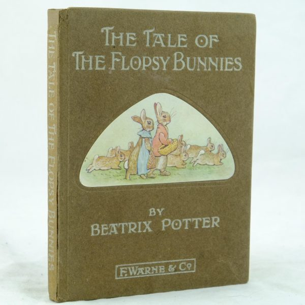 The Tale of the Flopsy Bunnies by Beatrix Potter 1st (3)