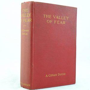 Valley of Fear by Sir Arthur Conan Doyle 1st