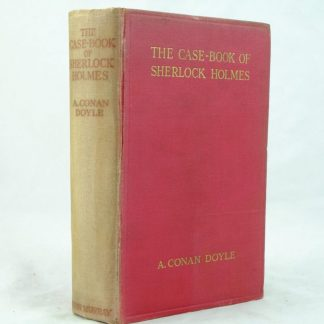 The Case Book of Sherlock Holmes by Arthur Conan Doyle Faded spine