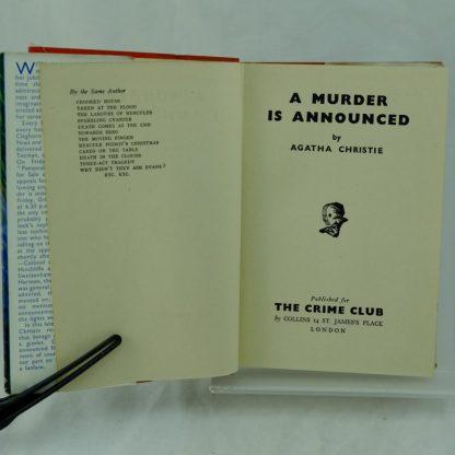 Agatha Christie A Murder is Announced (1)
