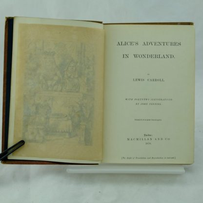 Alice's Adventures in Wonderland by Lewis Carroll coloured