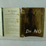 Dr No by Ian Fleming with dust jacket repair