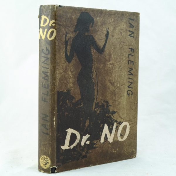 Dr No by Ian Fleming with dust jacket repair (7)