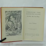 Miniature Through the Looking Glass by Lewis Carroll 1st good