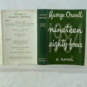 Nineteen Eighty Four by George Orwell 1st repaired DJ