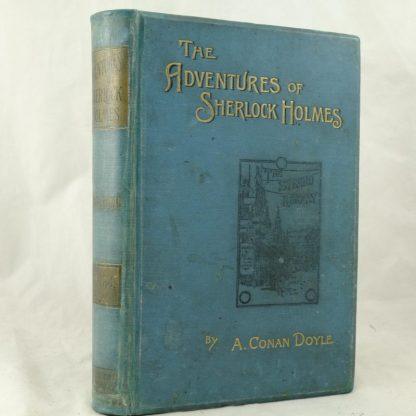 The Adventures of Sherlock Holmes by Arthur Conan Doyle 1892 (2)