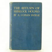 The Return of Sherlock Holmes first by A. Conan Doyle