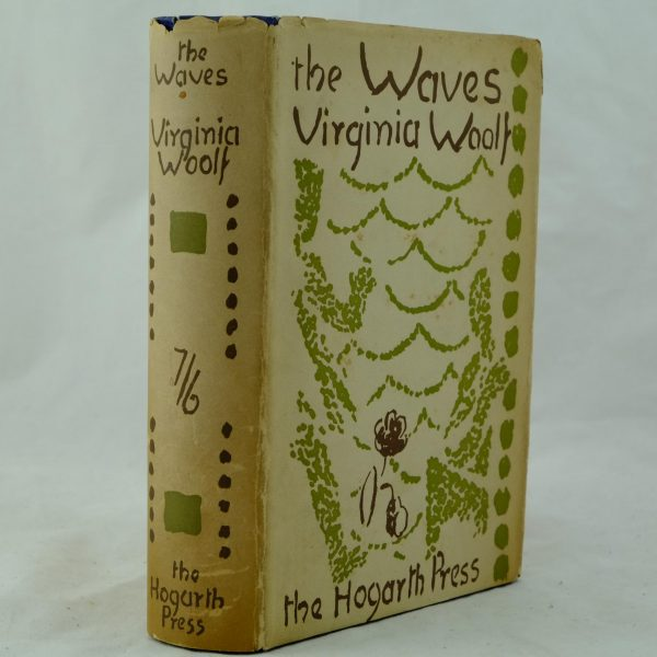 The Waves by Virginia Woolf 2nd impression (3)