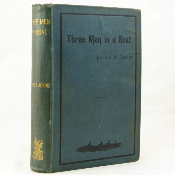 Three Men in a Boat by Jerome K Jerome 1st (3)