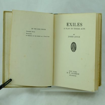Exiles by James Joyce