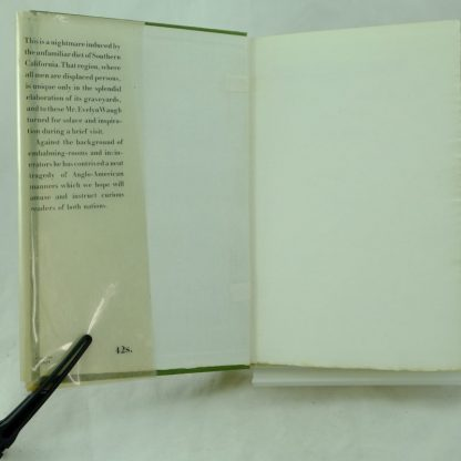 The Loved One glissine wrapper Evelyn Waugh Signed