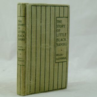 The Story of Little Black Sambo Helen Bannerman third edition