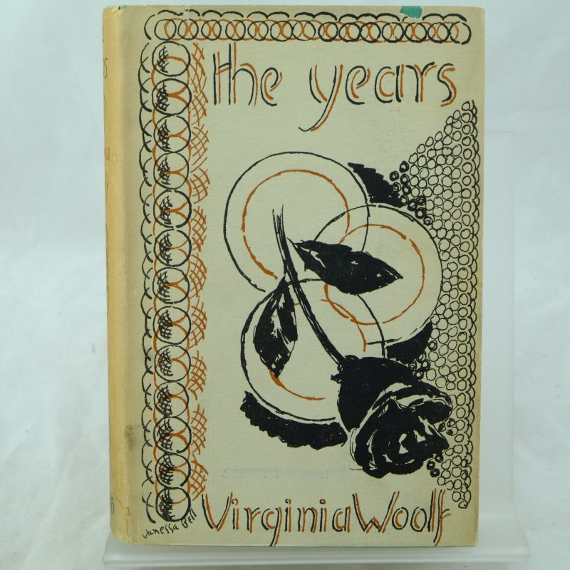 The Years by Virginia Woolf DJ