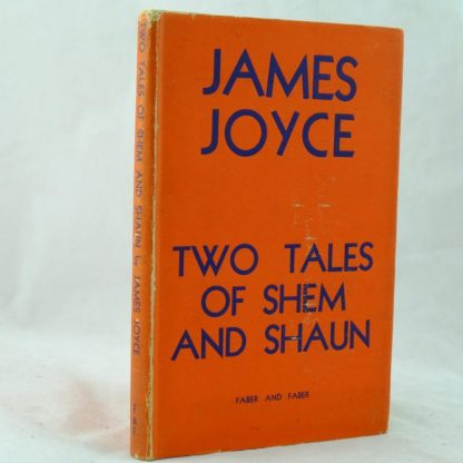 James Joyce Two Tales of Shem and Shaun
