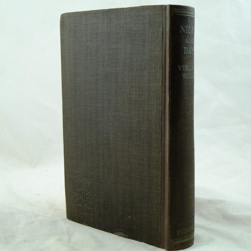 Night And Day By Virginia Woolf Rare And Antique Books