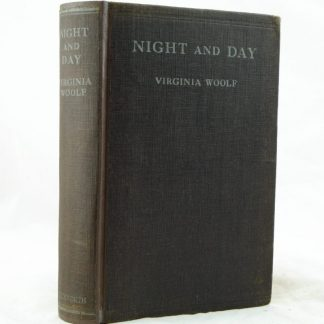 Night and Day from Virginia Woolf 1st edition rebound