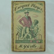 The Croquet Player by H. G. Wells dust jacket