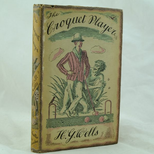 The Croquet Player by H. G. Wells dust jacket (5)