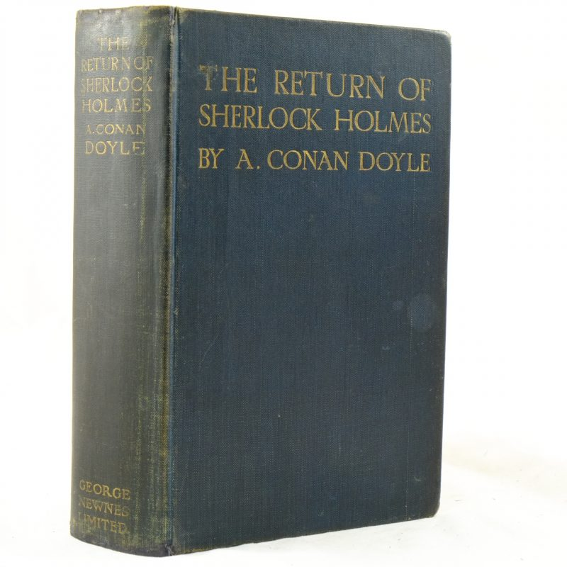 The Return of Sherlock Holmes illus by Paget