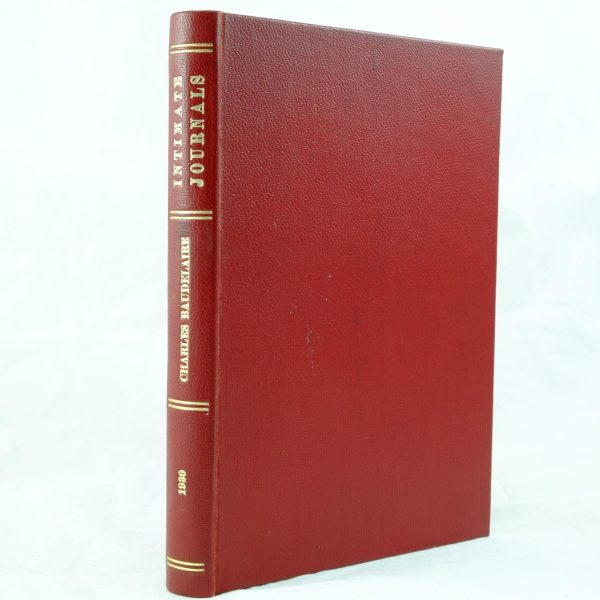 Intimate Journals signed T S Eliot Charles Baudelaire (7)