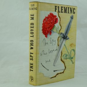 The Spy Who Loved Me by IAn Fleming Flaw on printing